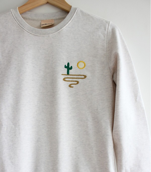Sweatshirt brodé homme -...