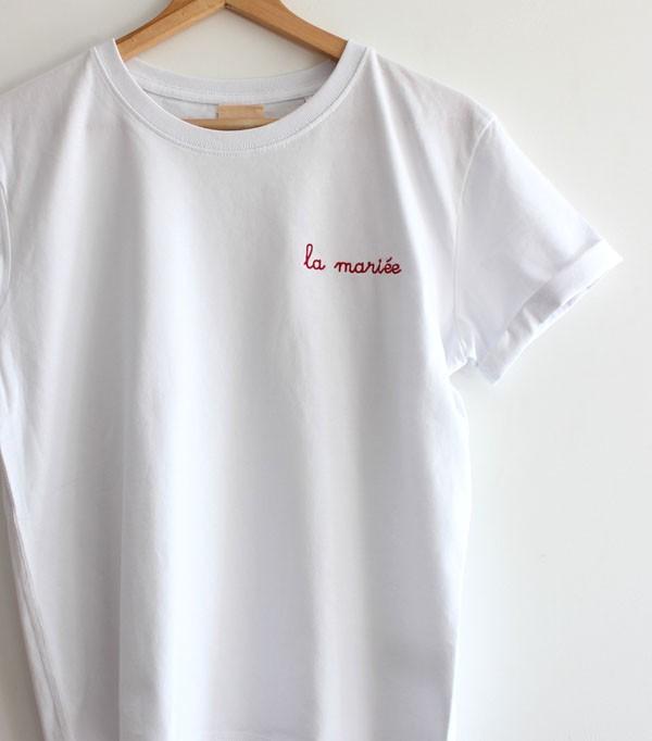 T-shirt brodé femme - La...