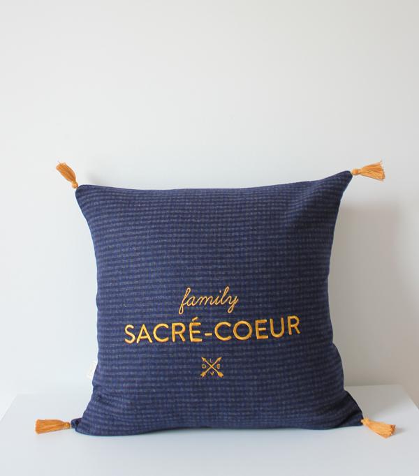 Coussin Family Sacré Coeur...