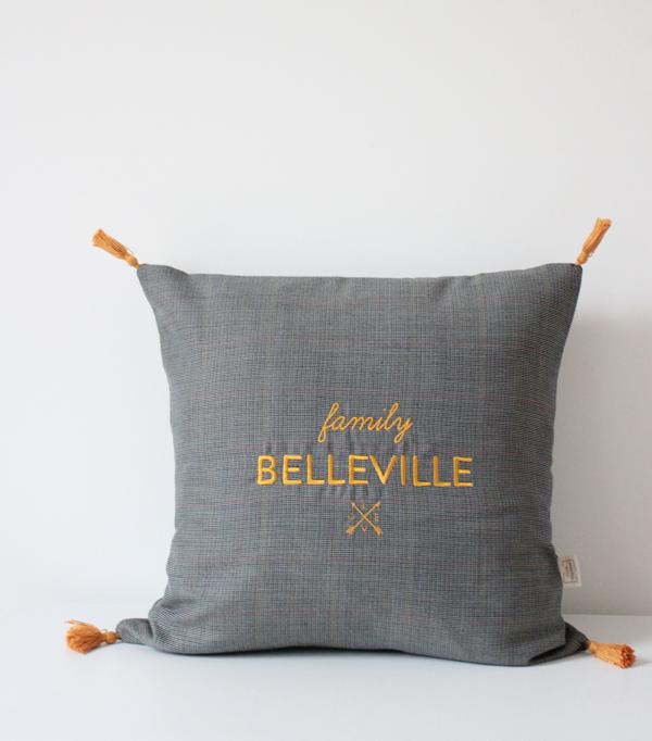 Coussin Family Belleville -...