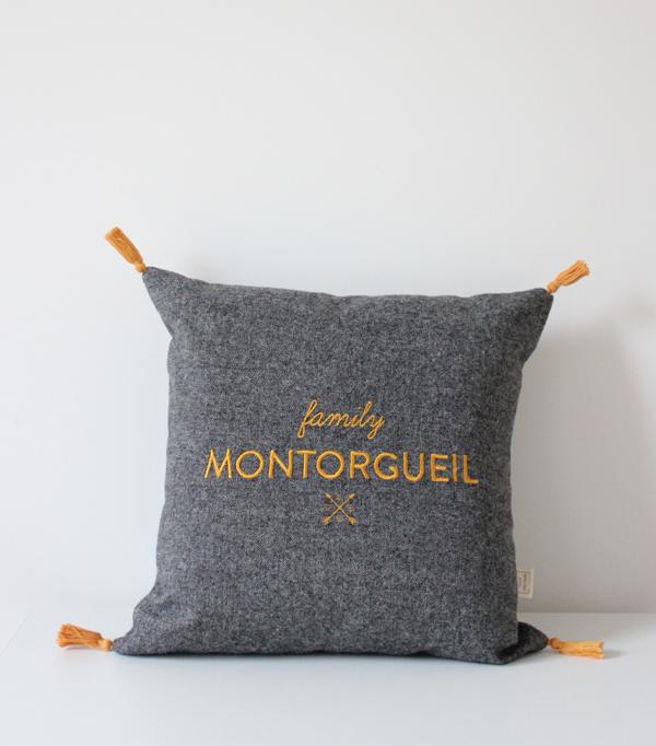 Coussin Family Montorgueil...