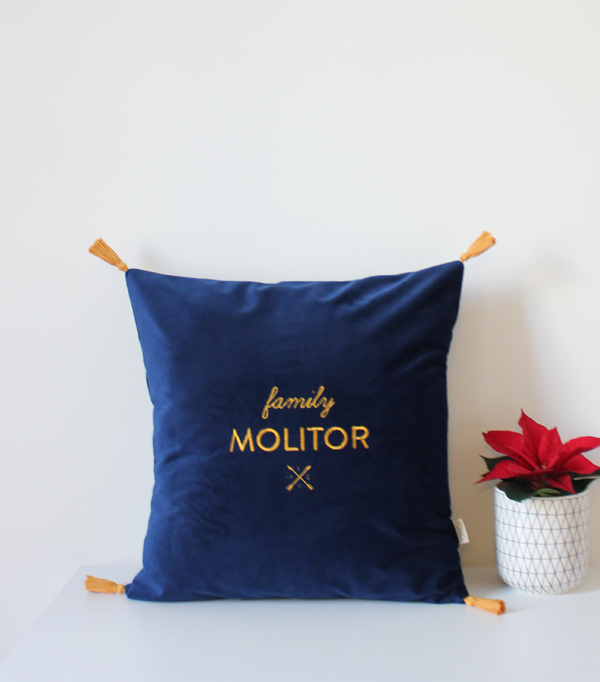 Coussin Family Molitor -...