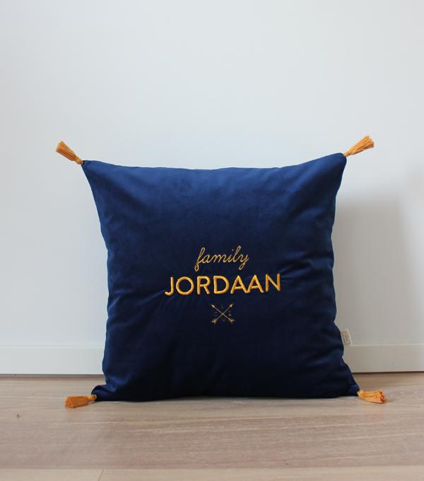 Coussin family Jordaan -...