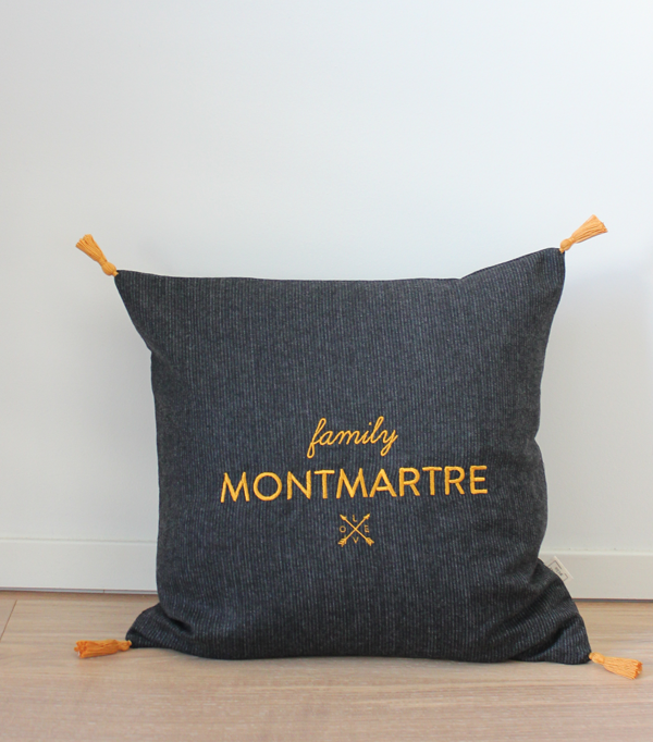 coussin family Montmartre -...