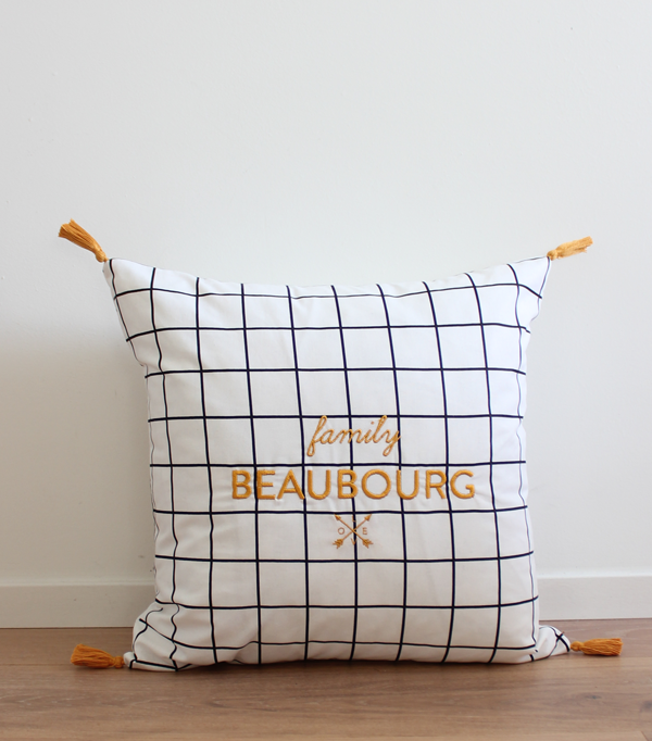 Coussin family Beaubourg -...