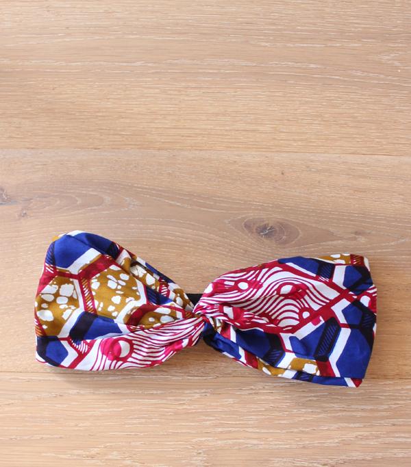 Headband wax Rouge et Bleu