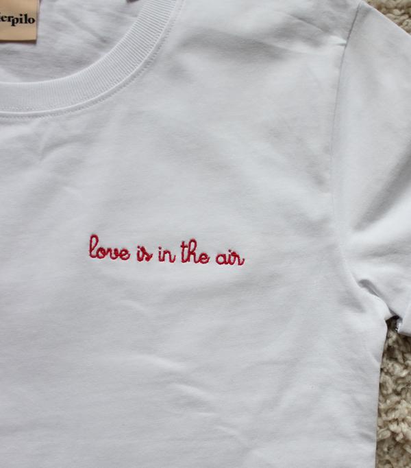 T-shirt brodé personnalisé