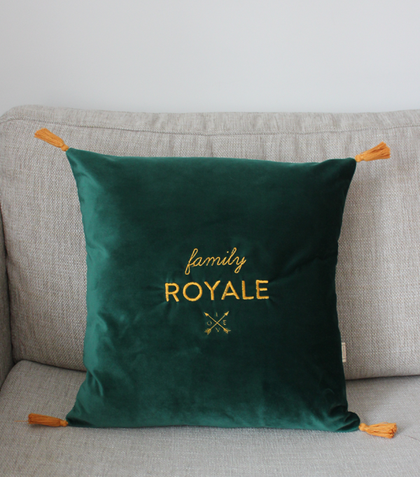 Coussin family Royale -...
