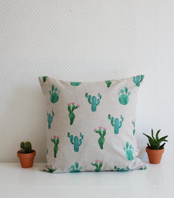Le Cactus - coussin cactus...