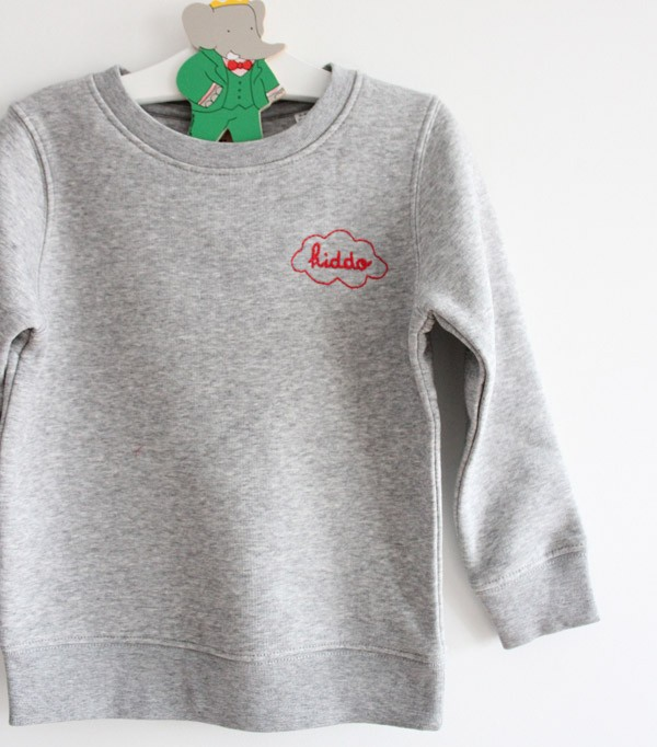 Sweat unisexe enfant - gris...