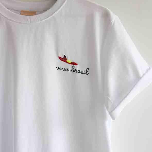 tee shirt VIVA BRASIL